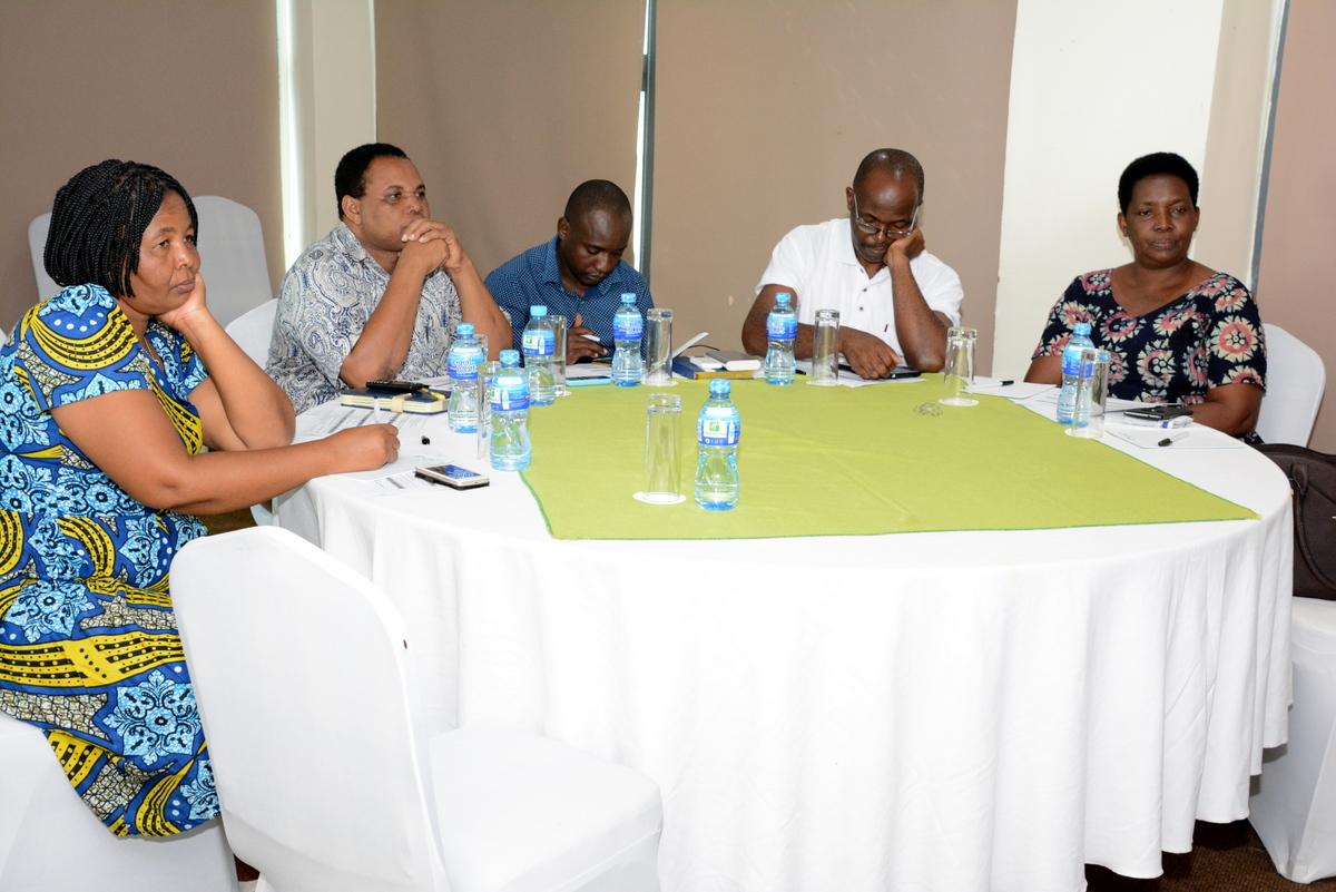 TUCTA-Leadership Skills Workshop funded by LO/FTF held in Dar es Salaam-Holiday Inn Hotel 2018