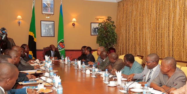 President Dr. John Pombe Magufuli Meeting with TUCTA